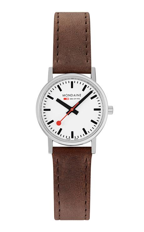 Mondaine Classic brown 30mm