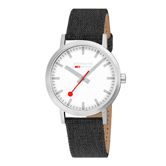 mondaine classic seasonal black 40mm