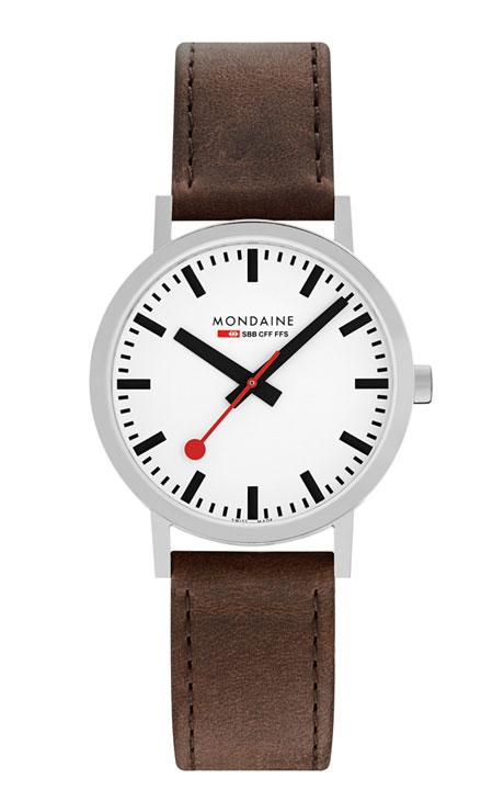 Mondaine Classic brown 40mm