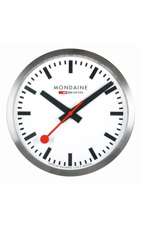 Mondaine Wall Clock white 25cm