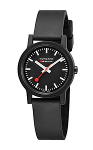 Mondaine essence black dial 32mm