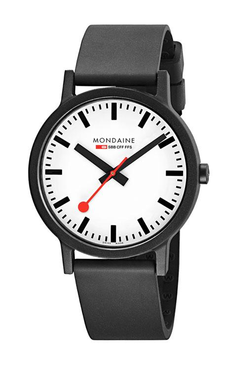 Mondaine essence white dial 41mm