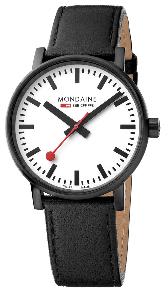 Mondaine evo2 black 40mm