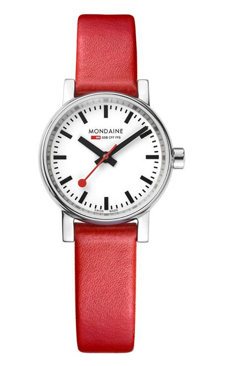 Mondaine evo2 26mm red