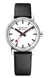 Mondaine evo2 black 35mm