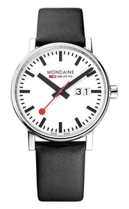Mondaine evo2 big date black 40mm