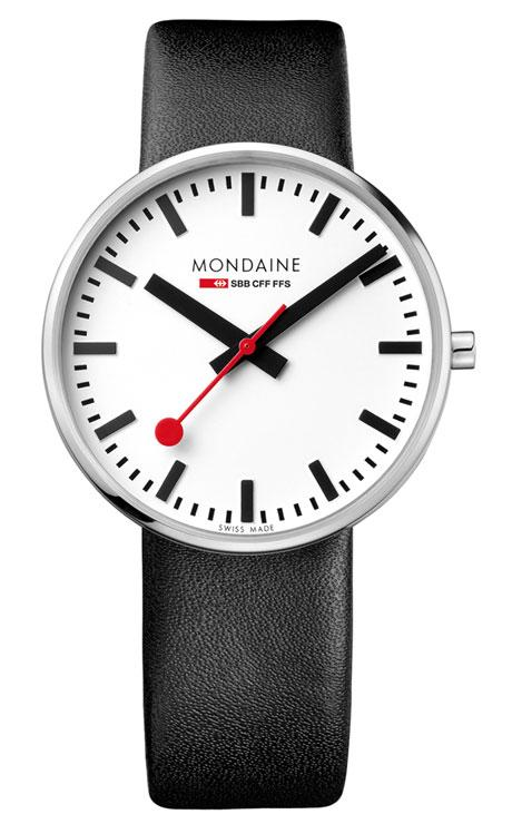 Mondaine giant backlight 42mm black