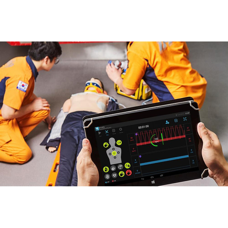 BLS Training Simulator With Tablet