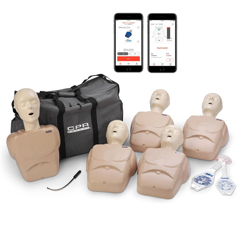 CPR Prompt® Plus w- Heartisense® 5-Pack Tan