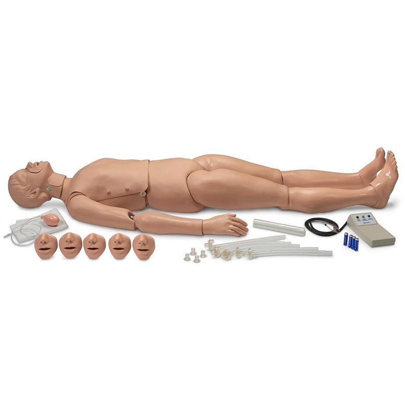 Full Body CPR Manikin with Electronics