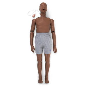 Full Body Trauma CPR Manikin, Dark