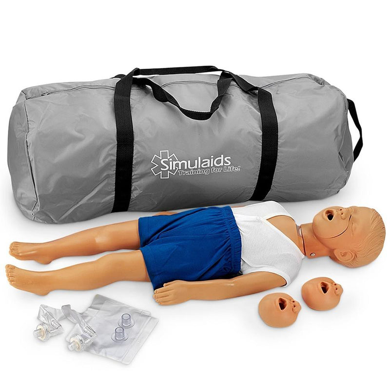 Kyle™ 3-Year-Old CPR Manikin with Bag