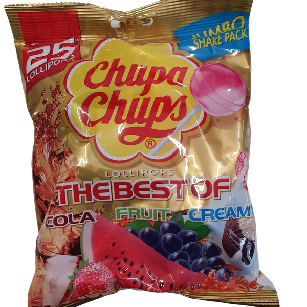 Chupa chup 25 pack - lollieswarehouse