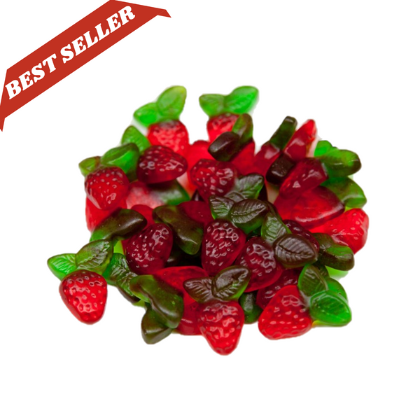 Strawberry leaf - lollieswarehouse