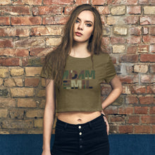 Load image into Gallery viewer, Army Strong Women's Crop Tee