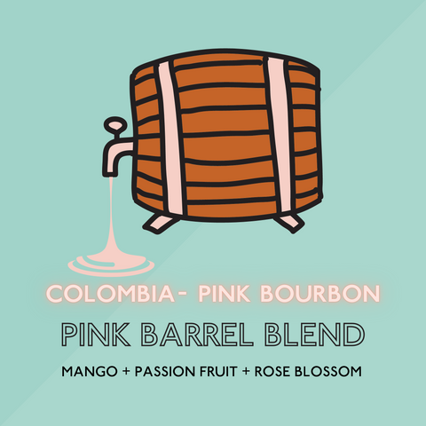 Pink Bourbon Barrel Blend - Light Roast