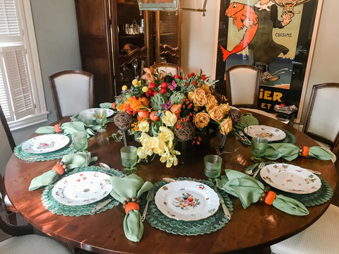 The Fab Fete - Thanksgiving Table Setting Ideas