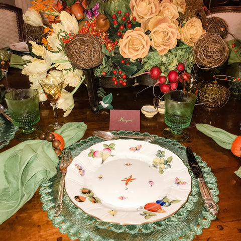 Thanksgiving Placesetting Inspiration - The Fab Fête