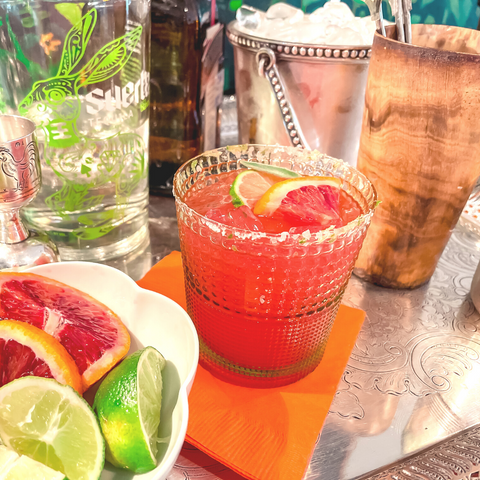 Blood Orange Margarita Recipe - The Fab Fete
