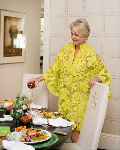 La Vie Style House Caftan - Dress for Every Occasion - Women's Luncheon Outfit Inspiration- The Fab Fête