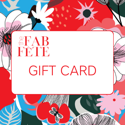 The Fab Fête Gift Card