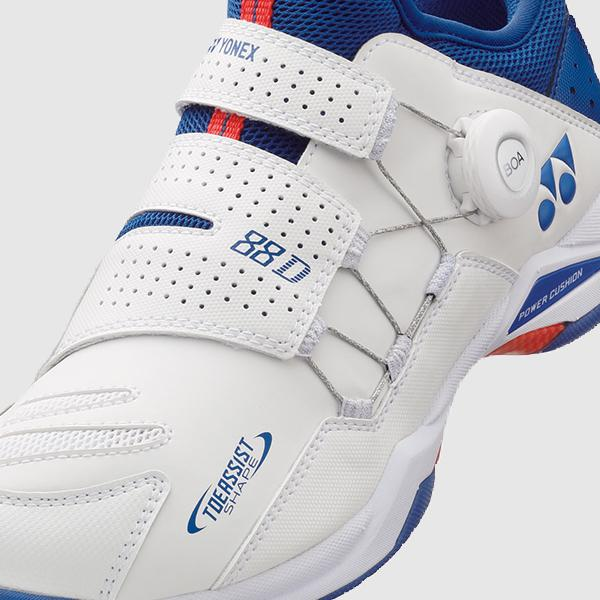 Yonex POWER CUSHION 88 DIAL (White / Blue) Badminton Shoes