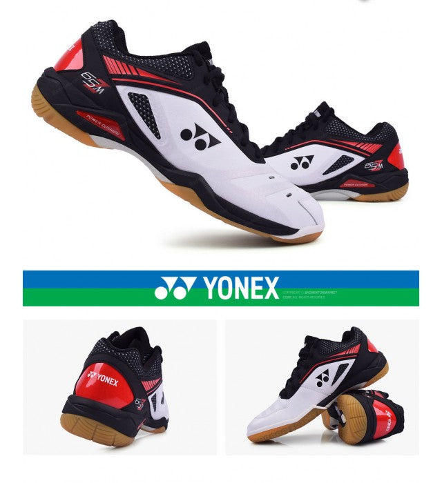 Yonex SHB-65ZM White Red Badminton Shoes