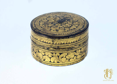 Burmese Lacquer-3 Container Pot Vayu