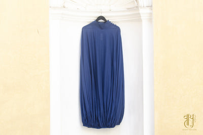 D-5 Cacoon Indigo Dress Dress Vayu M