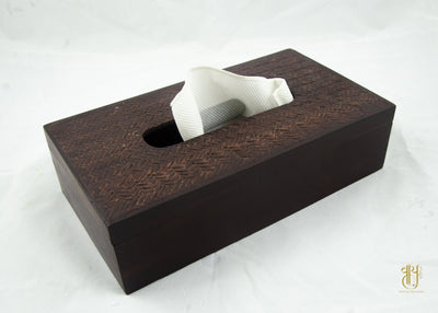 Handcrafted Wooden Tissue Box Tissue Box Vayu