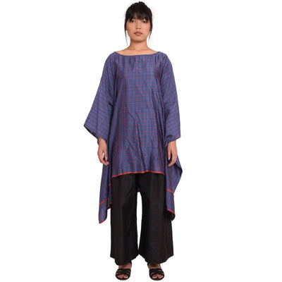 Handloom Silk Short Kaftan Top Kaftan Vayu