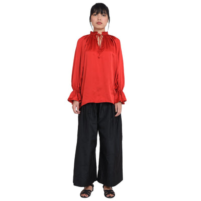 Nambu With Akiko Trousers Shirt and Trouser Whitechampa