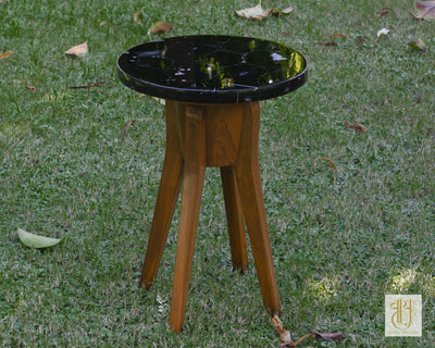 Piano Stool Side Table Tables Vayu