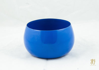 Stainless Steel Ocean Blue Enamel Serving Bowl Dish Bowl Vayu