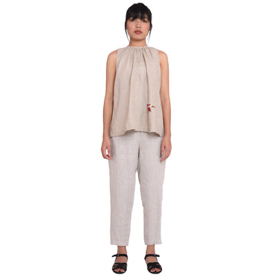 Zoe Top and Trouser Whitechampa