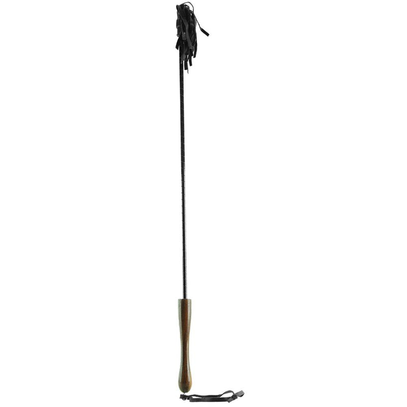Riding Crop with Wooden Handle