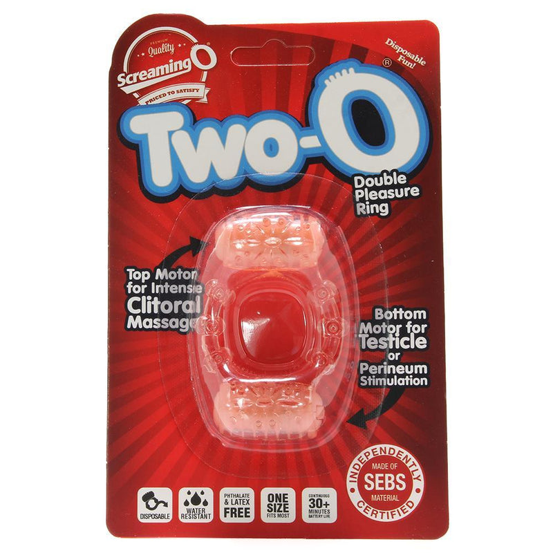 Two O Double Pleasure Vibrating Ring