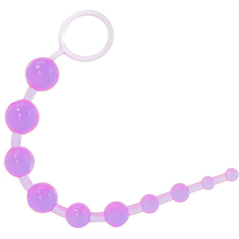 X-10 Anal Beads In Purple