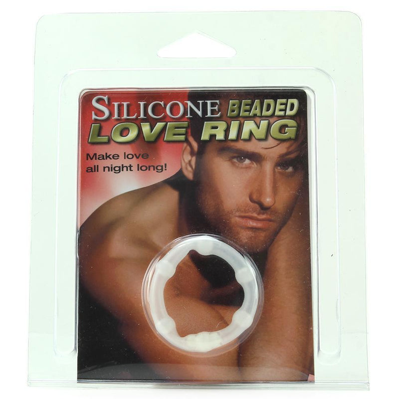 Silicone Beaded Love Ring