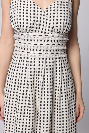Pretty Polka Dress