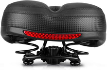 Load image into Gallery viewer, Breathable Shock Absorbing Mountain Bike Saddle Extra Soft Sporty Foam Saddle