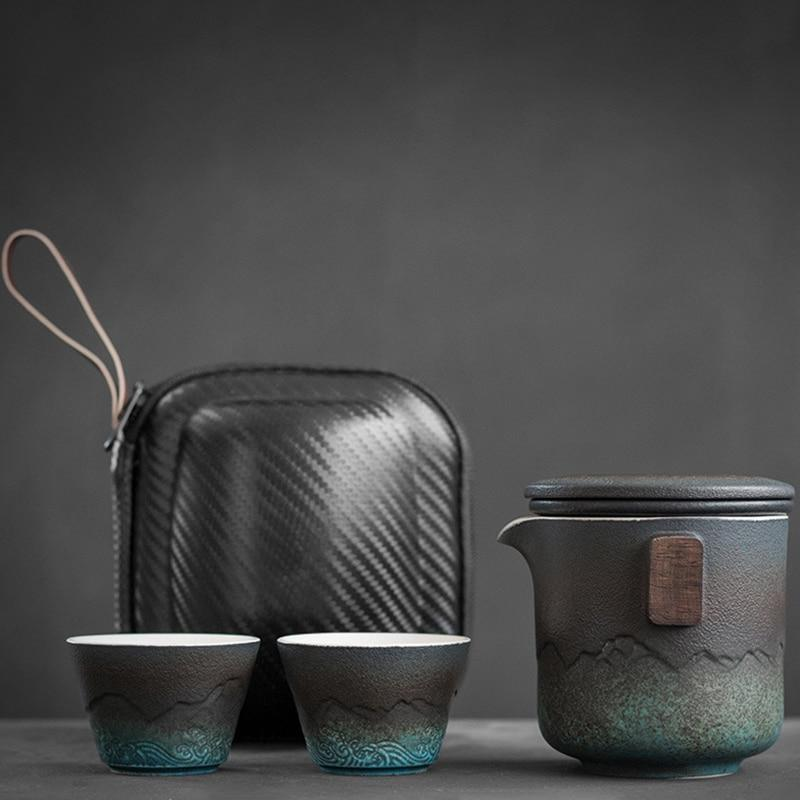 The Atlas Teapot Travel Set Tea Ecletticos