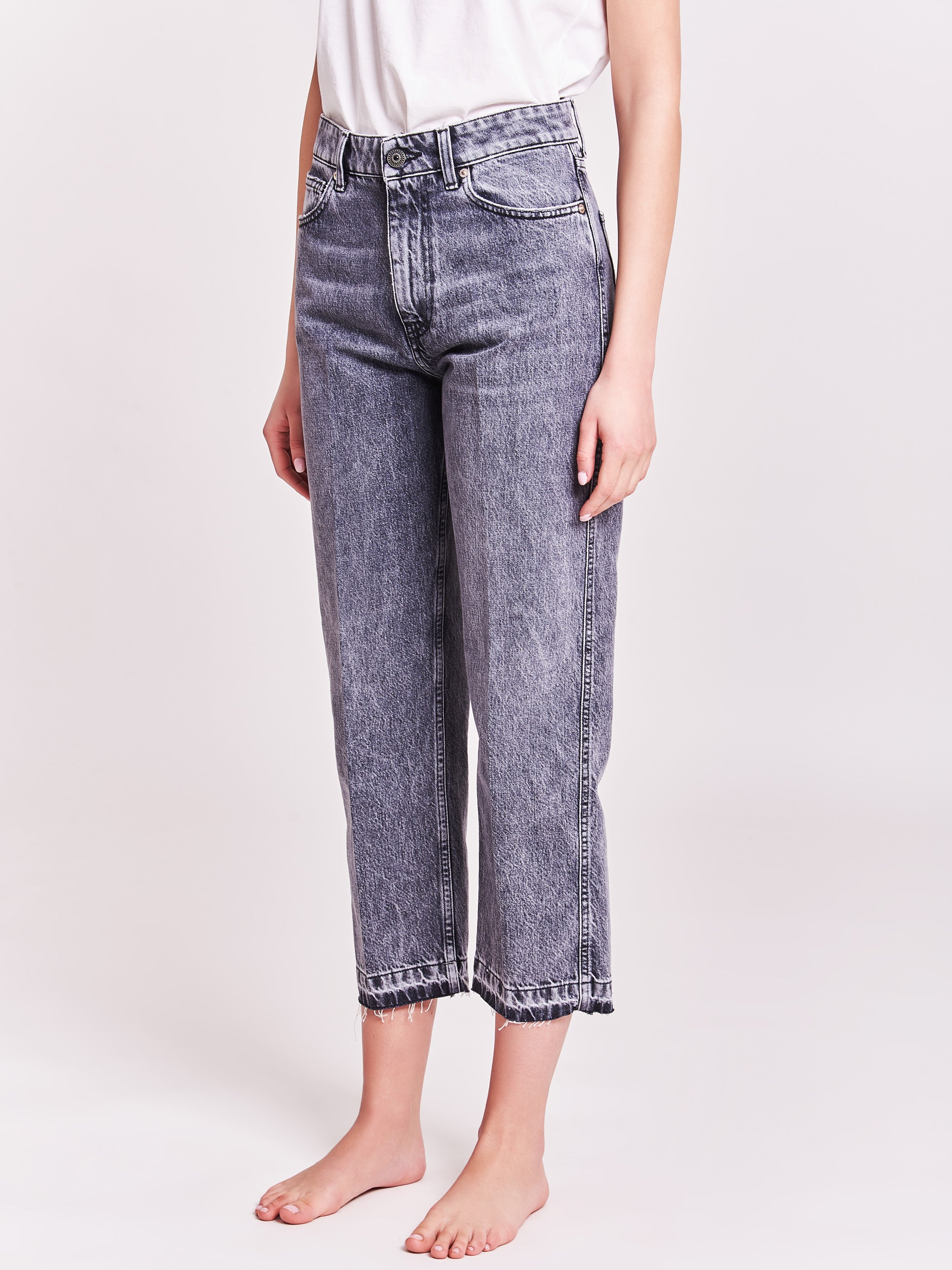 Frayed hems jeans - Kate icon
