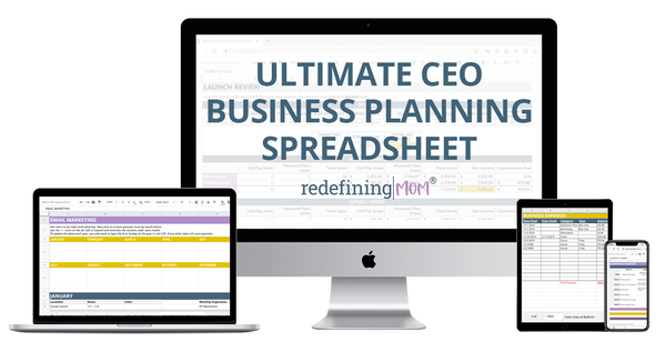 Ultimate CEO Business Planning Spreadsheet™
