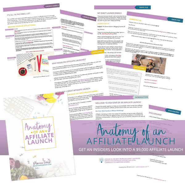 Anatomy of an Affiliate Launch