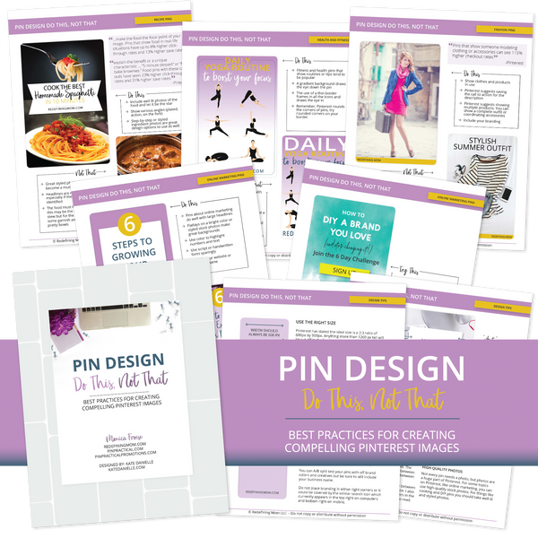 Pin Design Guide - Do This, Not That
