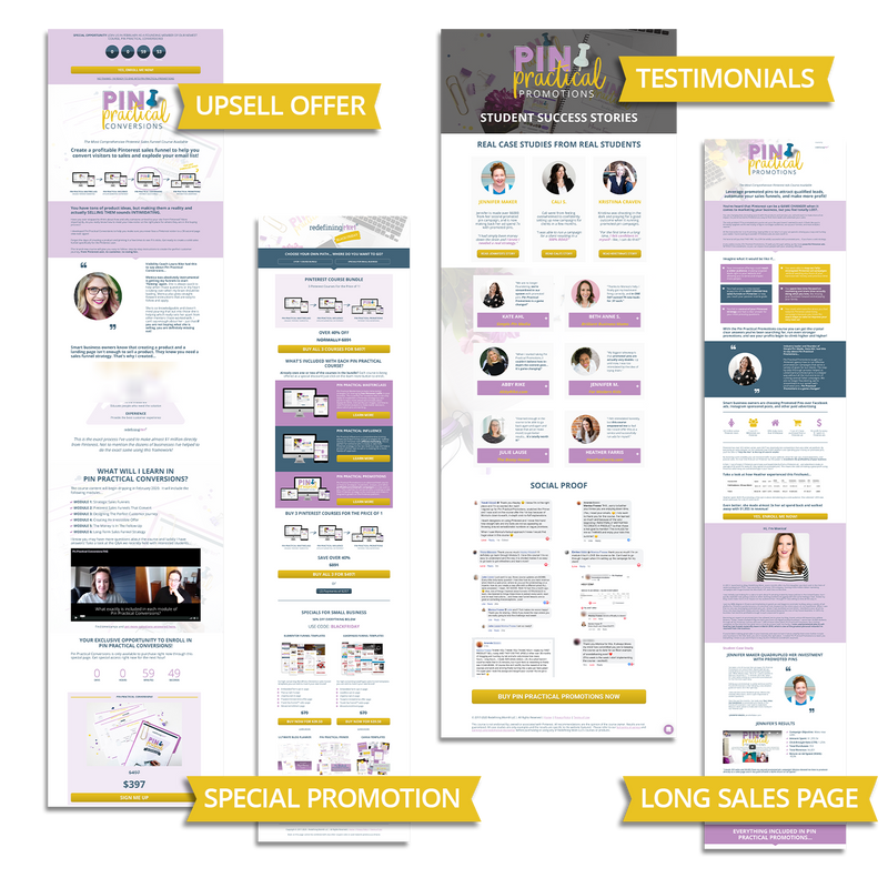 Practical Funnels™ Leadpages Templates: Advanced Pack