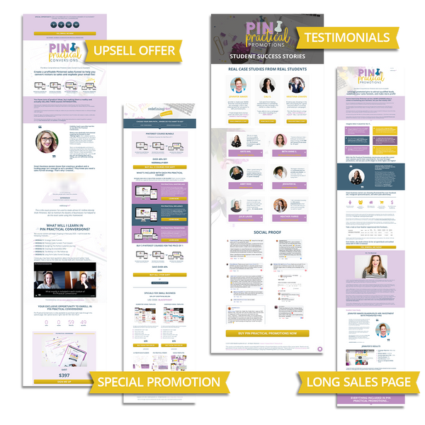 Practical Funnels™ Elementor Templates: Advanced Pack
