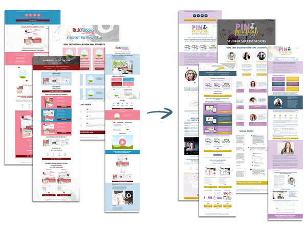 Practical Funnels™ Leadpages Templates Bundle