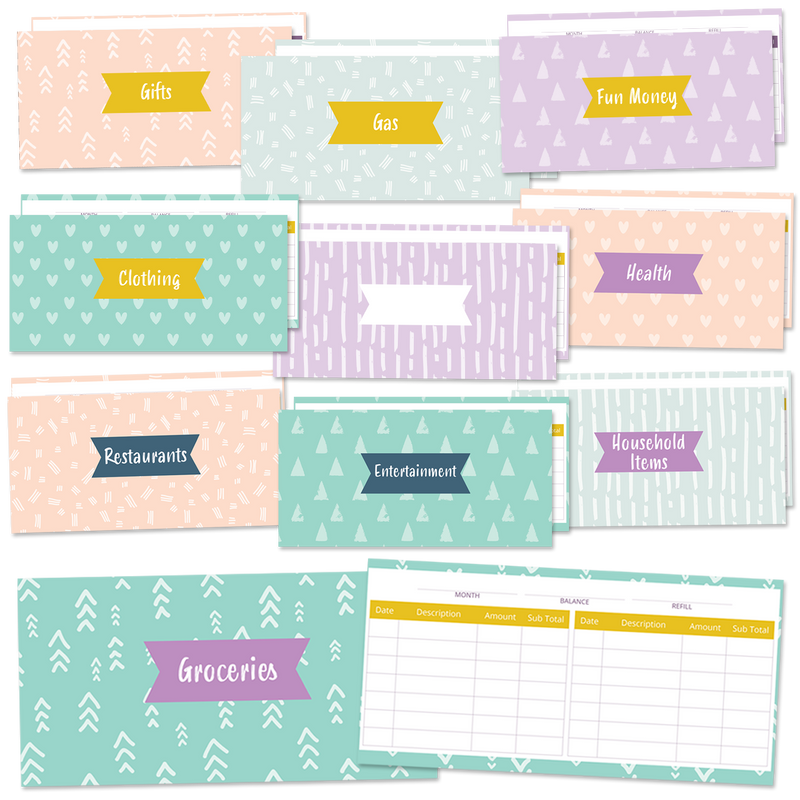 10-Pack of Cash Envelopes